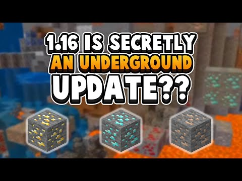 Minecraft 1.16 Accidentally Changed Every Cave???