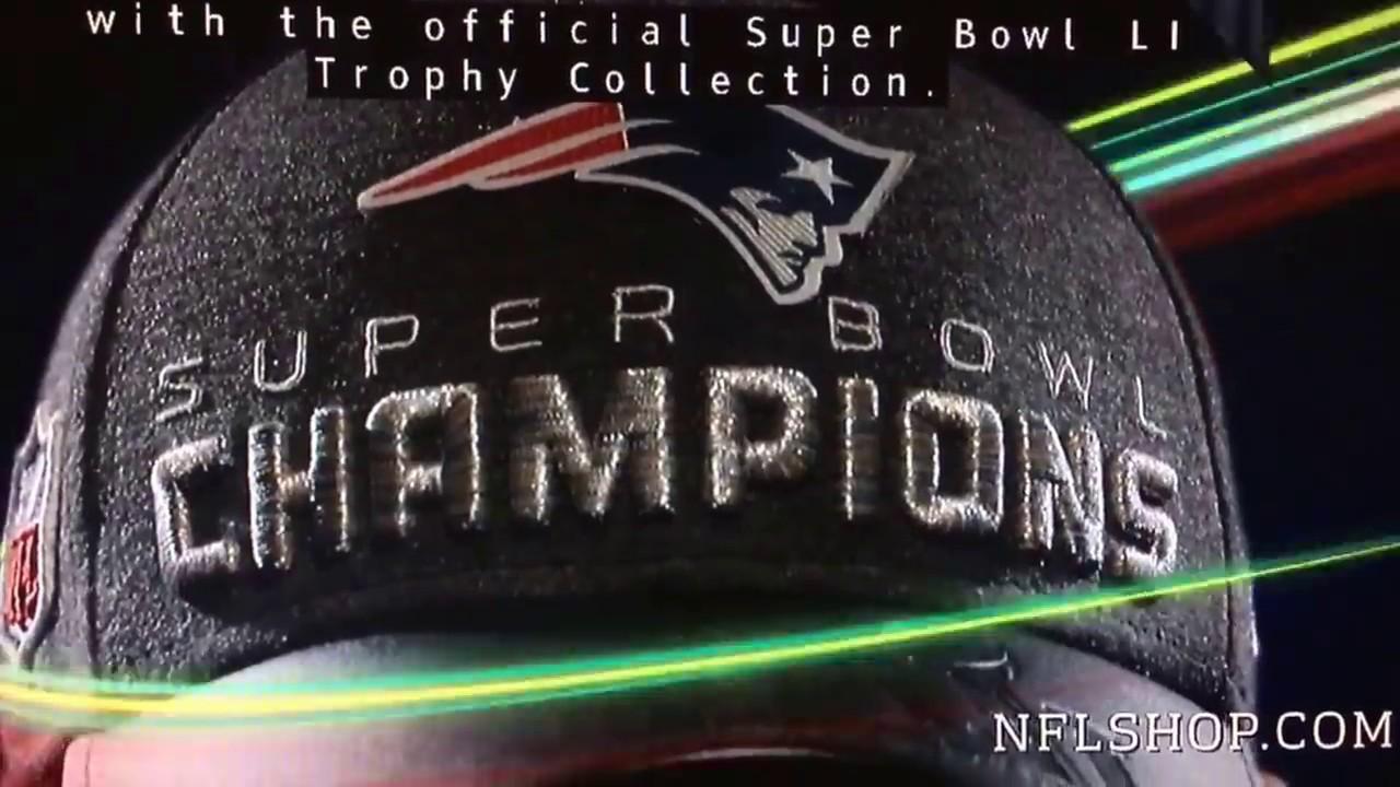 efe2d519f 2017 Patriots Super Bowl 51 champs gear commercial - YouTube