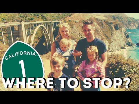 Pacific Coast Highway: Where To Stop/stay Overnight? California Highway One Road Trip!