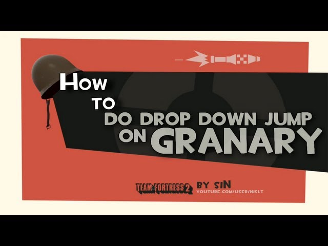 TF2: How to do drop down jump on granary