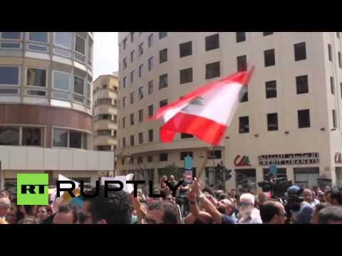 Lebanon: Beirut rallies against waste-disposal crisis