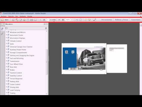Manuales PDF Ford F150 2009 a 2014