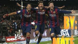 MSN ►Goals & Assist ◄ Vs Atletico Madrid 2013-2016