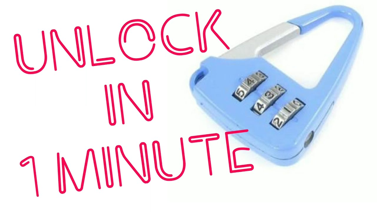 how to open any number lock in 1 min full tutorial unlock life