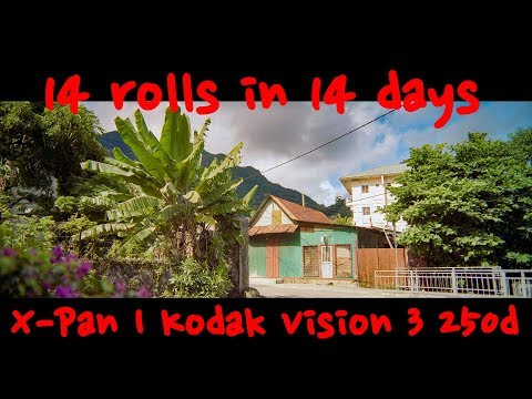 14 rolls in 14 days | Sailing Seychelles | Hasselblad Xpan | Kodak Vision 3 250d | Day 3