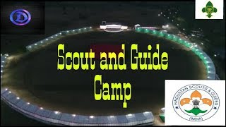Scout and guide camp with Friends #1
