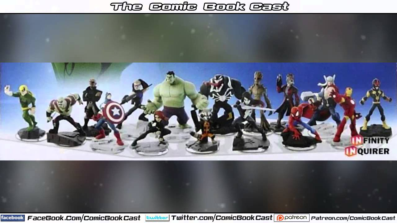 Disney Infinity Marvel All Characters Reveald Guardians Of The Galaxy Youtube