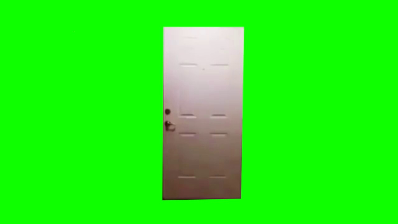 Greenscreen Big Bird Kicks Down A Fucking Door