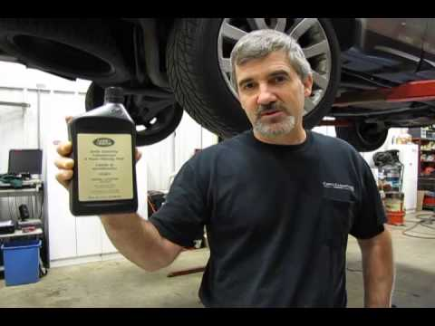 Watch on range rover transmission fluid
