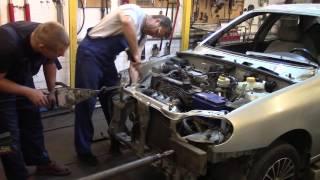 Кузовной ремонт. Будем ремонтировать Ланос. Body repair.(, 2015-10-13T20:58:27.000Z)