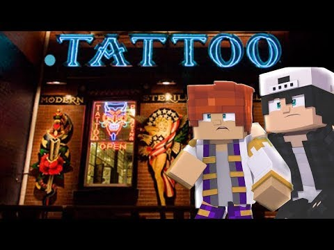 RAVEN GETS A TATTOO FOR LITTLE KELLY - Minecraft LOVE STORY