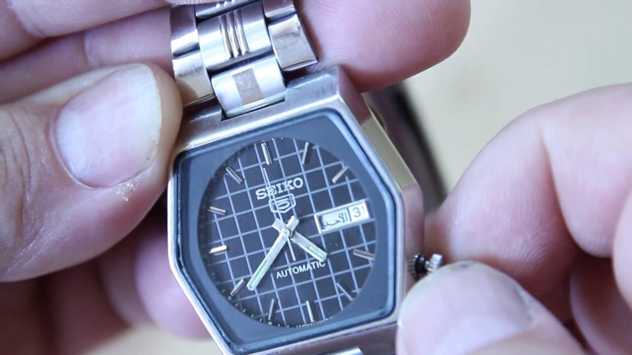 9f1590dd994 Relógio Seiko automatico antigo lindo no mercado livre - YouTube