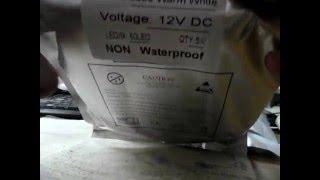 Светодиодные ленты-обзор . как светят в гараже.(Посылка из Китая -светодиодные ленты для освещения в гараже от блока или аккумулятора. 5630 марка. Одна лента..., 2015-12-27T12:32:34.000Z)