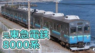元東急電鉄8000系 伊豆急行8000系電車 ~オールステンレス車両~