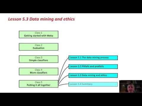 Data Mining With Weka (5.3: Data Mining And Ethics)