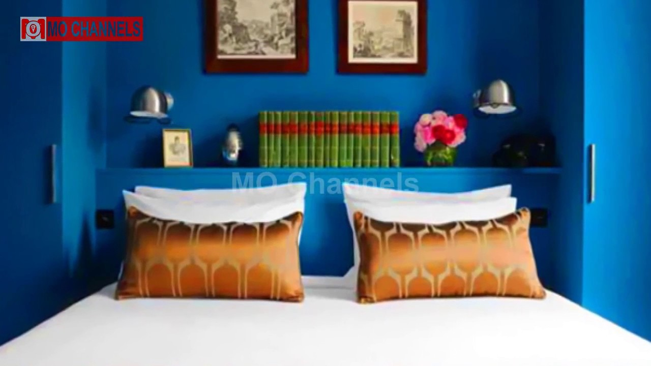 Delicieux 30 Best Blue Wall Paint Bedroom Design Ideas 2017   MO Channels