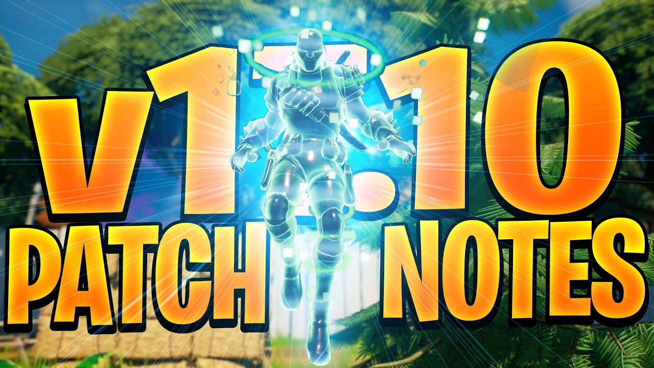 Fortnite 17.10 PATCH NOTES (A Way To Get On The MOTHERSHIP??)