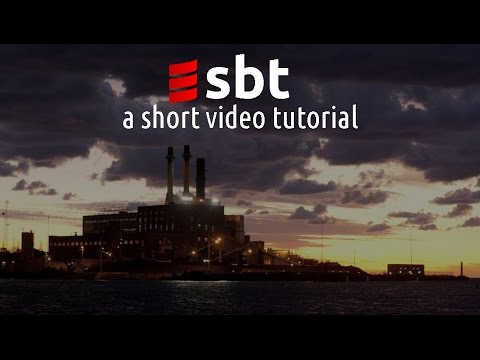 Scala sbt - a short video tutorial