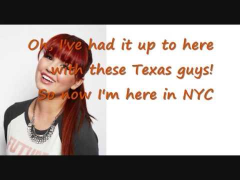 Debby Ryan - Texas Guys Lyrics