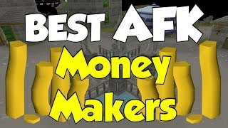 Best AFK Money Making Methods In OId School Runescape [2018]