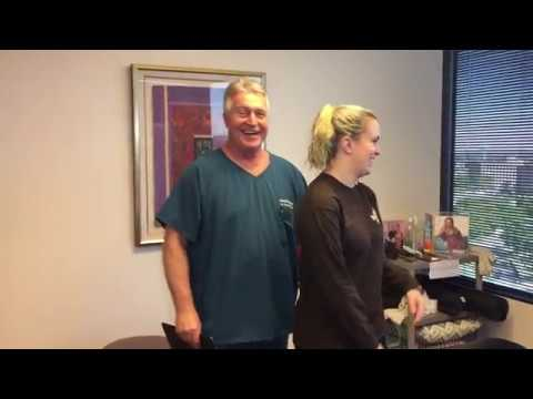 Army Veteran Gets Her First Adjustment By Houston Chiropractor Dr Gregory Johnson rice Crispies