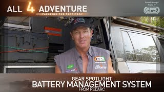 Gear Spotlight: Battery Management System from Redarc ► All 4 Adventure TV