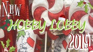 SHOP WITH ME HOBBY LOBBY / New CHRISTMAS DECOR 2019/