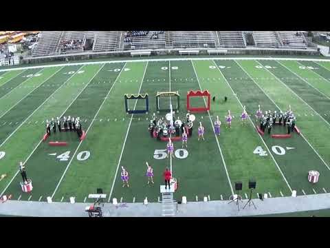 Forest Area High School TC Marching Exhibition 10/8/2018