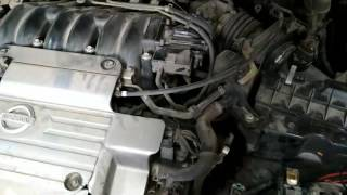 Nissan maxima а33 заводится и глохнет