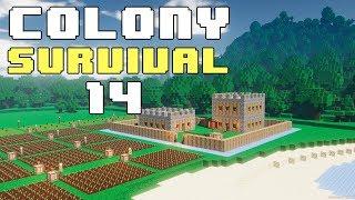 Прохождение COLONY SURVIVAL: #14 - ТАВЕРНА, КЛАДБИЩЕ, РЫНОК!