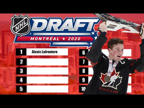 The Top NHL Prospects Of The 2020 Class (Mock Draft)