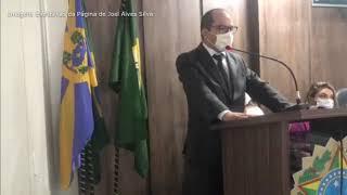 Vereador Rennio Diógenes   Pronunciamento Alto Santo   02 01 2021