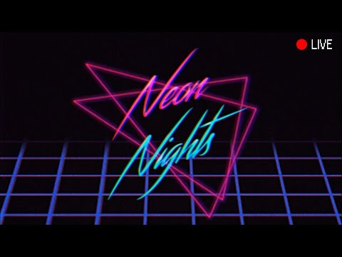 Retrowave/Synthwave/Darkwave Neon Nights Midnight Radio