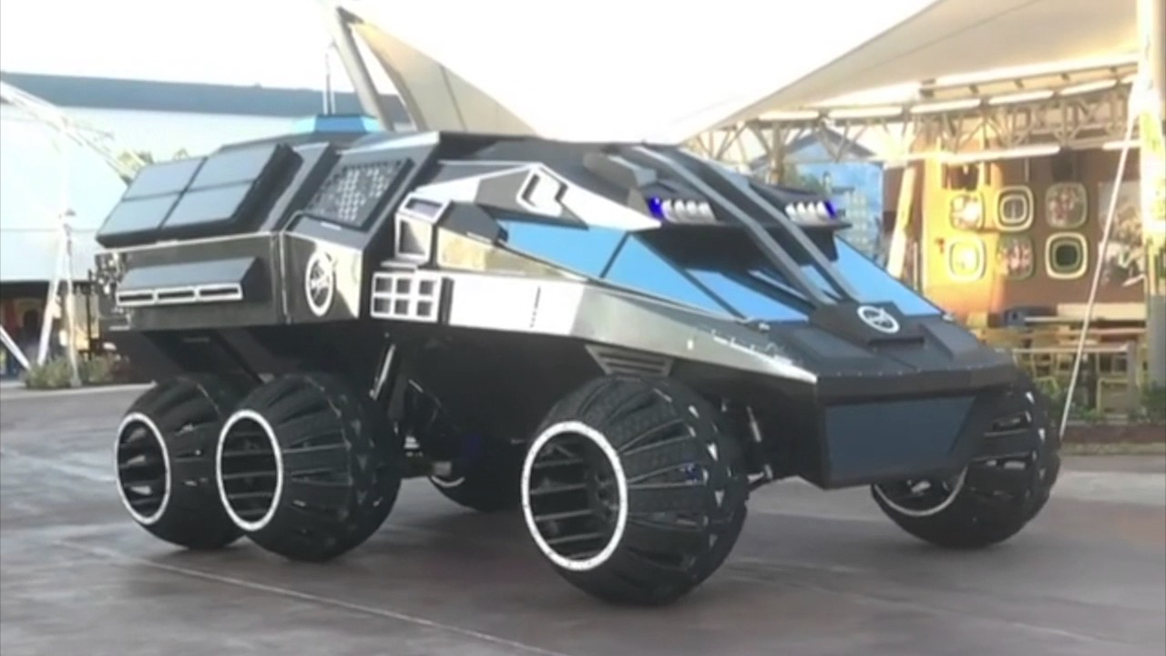 NASA: NEW 6-Wheeled Mars Rover Concept Vehicle Unveiling To The ...