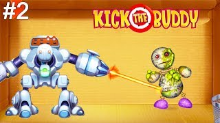Kick the Buddy | Fun With All Weapons VS The Buddy #2 | Android Games 2019 Gameplay | Friction Games