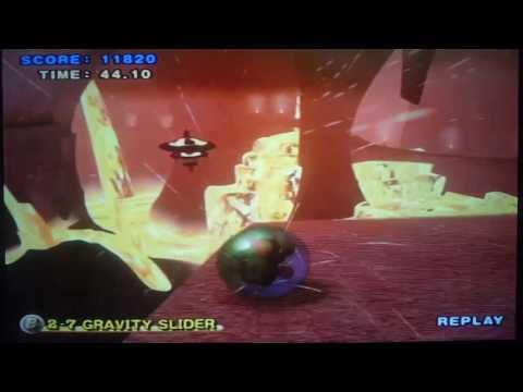 Super monkey ball 2 gravity slider 500MPH