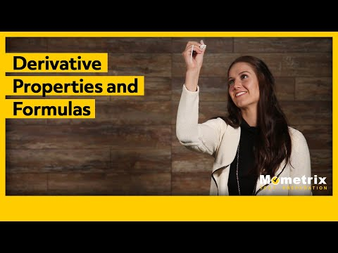 Derivative Properties and Formulas - Secrets Exposed!