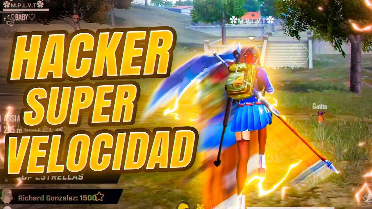 HACKER con SUPER VELOCIDAD ¡No lo creerás… ! FREE FIRE
