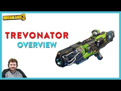 Trev Is Ganna Get You! | Borderlands 3 | Trevonator Legendary Shotgun
