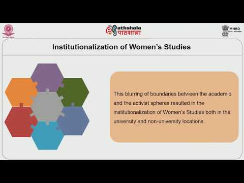 Emergence of Women's Studies in India