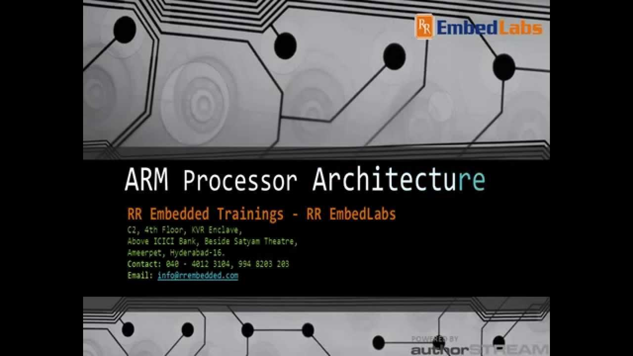 Best Embedded Institute IndiaARM Processor Architecture YouTube - Arm processor architecture