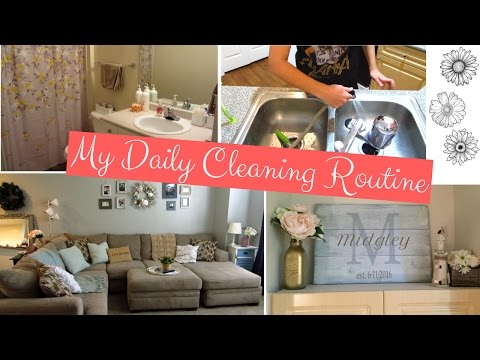 MY CLEANING ROUTINE- Clean With Me/ Cleaning Motivation - 동영상