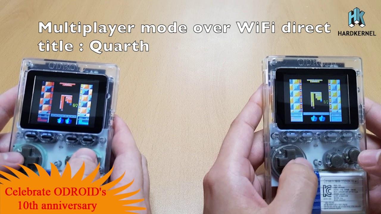 ODROID-GO fMSX port : Multiplayer over WiFi direct