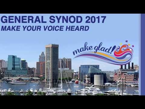 Highlights from the United Church of Christ's General Synod 2017