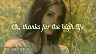 Lana del rey - love song (lyric video ...