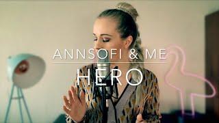 Afrojack & David Guetta - Hero   Acoustic Cover   annsofi & me