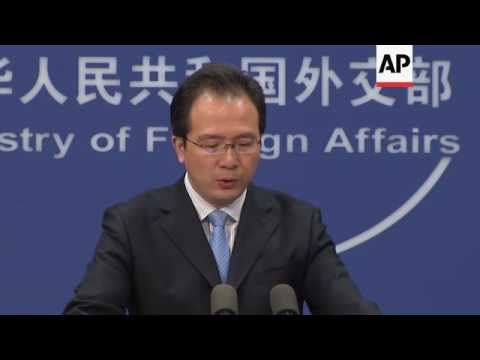 Beijing spokesman on South China Sea tension