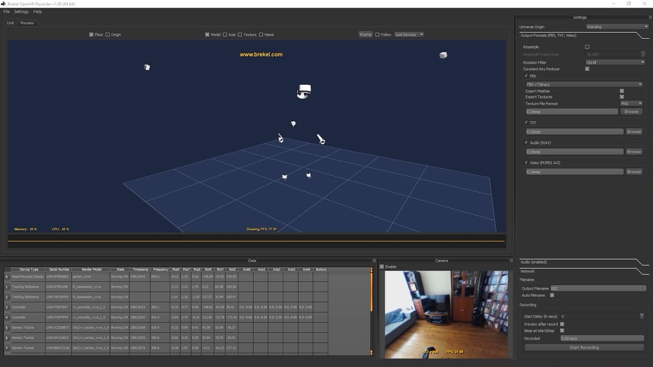 OpenVR Recorder' is a Powerful Tool for Capturing Tracking
