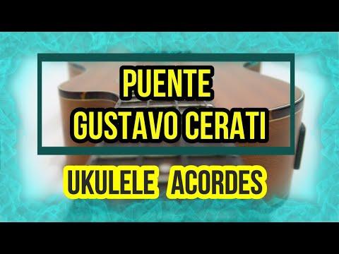 Gustavo Cerati- Puente (Ukulele Cover Acordes)