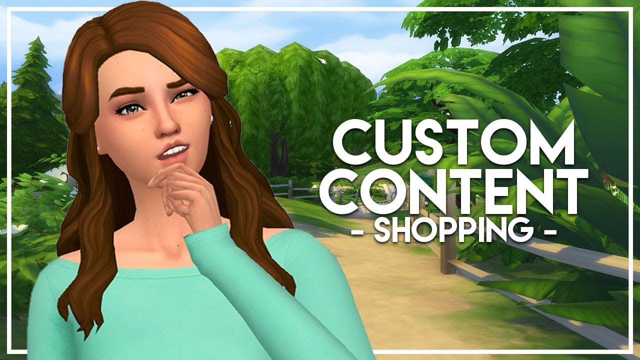 how to create custom content for sims 4